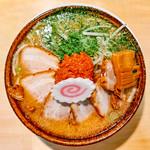 武者気 - 料理写真:辛味噌チャーシュー麺