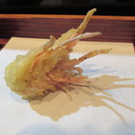天ぷら酒房 西むら - エビ味噌
