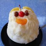 丸三(まるみつ)冷し物店 - 白くま(500円)