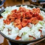 韓辛DELI - 鶏もも肉とキャベツ