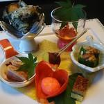 あさぎり - 料理写真:前菜