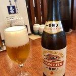 Morinomiyakotasuke - やっぱりビールでひと休み(笑)