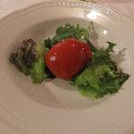 ラ リベラ - 芽室産赤ピーマンのインボルティーニ