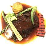 テラスロンド - 牛ほほ肉の赤ワイン煮込み