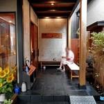 魚登久 - 別館『うなぎのねどこ』の入り口