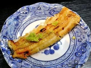魚登久 - 白焼(おろしワサビで)