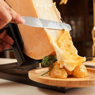 個室×ラクレットチーズ プラチナフィッシュ ガーデンキッチン ...