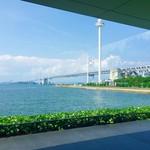 90993797 - 瀬戸大橋を眺めながらボンヤリとティータイム