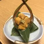 魚こう鮨 - ウニ刺身