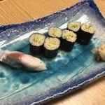 魚こう鮨 - シメサバ、わさび巻