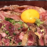 90995599 - 新潟和牛すき焼き&極上ステーキ・牛カツ重(アップ)