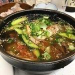 串ホルモン 串源 - 冷麺