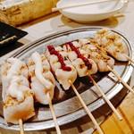 路地裏とり料理 かまくら番長 - ササミマヨ ササミうめ ササミわさび 各99円