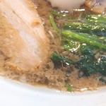 麺屋酒房 喜凛 - 背脂醤油