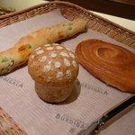 ブーランジェリー ブルディガラ - ☆パンは3種類購入☆