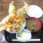 旬彩亭 - 料理写真:「穴子丼」1,500円+「大盛」50円