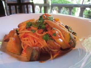 THE FUJIYA GOHONJIN - 夏野菜のパスタ