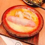 91002251 - ソーセージと鶏肉のチーズタッカルビ