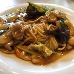 ウエスト 中華麺飯 - 料理写真:五目あんかけ焼きそば