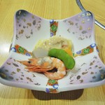 飛車角 - 前菜(付き出し?)