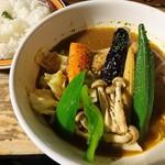 カンクーン - チキン&ベジタブル(1058円)