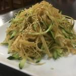 91005102 - 干し豆腐の和え物