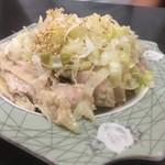 91005188 - 蒸し鶏ネギソース