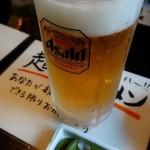 91005369 - 生ビール500円(だだちゃ豆付)