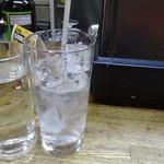 ナカジマ酒店 - 焼酎水割り