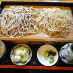 あづまや - 料理写真:合盛り板そば1340円