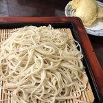 かめや - 料理写真:大もり 500円 &穴子天100円/個