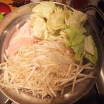 まんたろー - 鶏しゃぶ鍋(2018.7.10)
