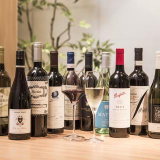 焼鳥とワインの絶妙なマリアージュをお楽しみください。
