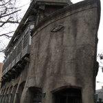 kitanokaisenaburinoanohakobune - 石で出来た船のような変な建物