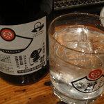 kitanokaisenaburinoanohakobune - 焼酎ロック