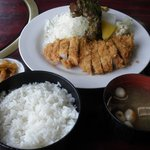 みちのく - 料理写真:ランチ とんかつ定食