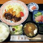三遊司 - みそかつ御膳1250円(税込み)