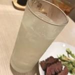 牛たん炭焼 利久 - 生レモンサワー