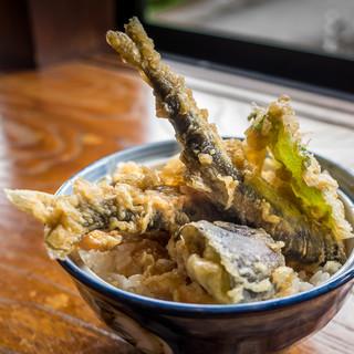 鮎料理の店 鮎の里 - 活鮎天丼