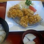 まるまつ - 料理写真:鶏竜田揚げAセット