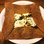91015228 - キーマカレーとモッツァレラチーズのガレット