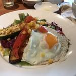 Royal Garden Cafe - サラダ&スープランチ