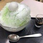 91016775 - 塩大福氷✨
