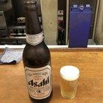 91017088 - アサヒスーパードライ 瓶ビール(大瓶)♪