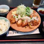 居酒屋 まる和 - おろしチキン定食