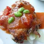 9102090 - ハーブでマリネした鶏肉ロースト