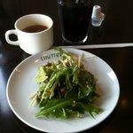 9102986 - 豆腐のサラダ、オニオンスープ