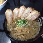 だるま亭 - 背脂味噌チャーシューメン