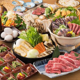 渋谷での新年会など各種宴会に!鍋料理メインの飲み放題付コース