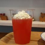 キートス カフェ - ピンクグレープゼリー